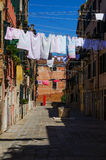Drying laundry Royalty Free Stock Photos
