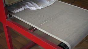Drying machine working stock video
