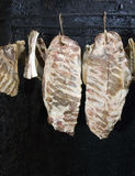 Drying meat Royalty Free Stock Photography