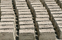 Drying Mud Bricks Stock Images