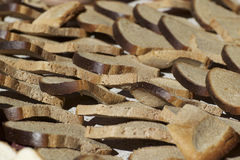 The drying process of crackers Stock Photo