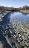 Drying River Royalty Free Stock Photos