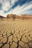 Drying River in Utah Royalty Free Stock Images