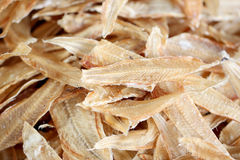Drying sea fish in preservation of foods. Royalty Free Stock Photos