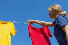 Drying. Royalty Free Stock Photos