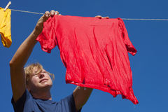 Drying. Stock Image