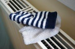 Drying sock Stock Photography
