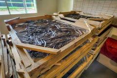 Drying vanilla Royalty Free Stock Photography