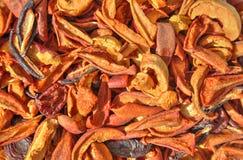 Drying various fruits closeup Royalty Free Stock Photos