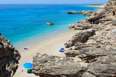 Drymades beach, Albania. Stock Photo
