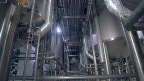 Drymba i struktura w przemysłowej fabryce 4K zbiory