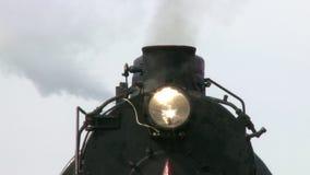 Drymba parowego silnika pociąg zdjęcie wideo