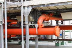 Drymba Pożarniczego boju system obraz stock