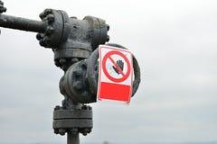Drymby i klapy benzynowy system Czerep infrastruktura dalej Obrazy Stock