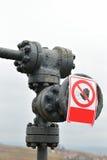 Drymby i klapy benzynowy system Czerep infrastruktura dalej Zdjęcia Stock
