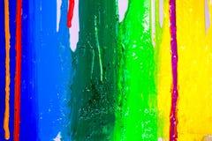 drypa färger Arkivfoto