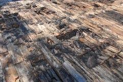 Dryrot dach Fotografia Royalty Free