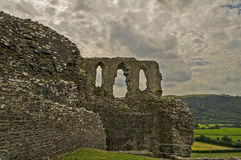 Dryslwyn castle 10. This is an image of the hilltop castle in carmarthenshire Royalty Free Stock Photography