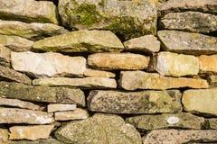 Drystone ściana Fotografia Royalty Free