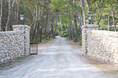 Drystone gates Royalty Free Stock Photography