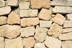 Drystone wall closeup Stock Images