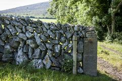 The Drystone wall stock images