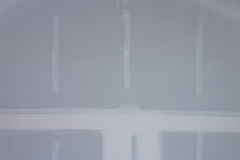 Drywall. Newly installed drywall or sheetrock in a home remodel project Royalty Free Stock Images