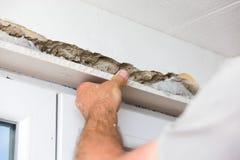 Drywall bonding Stock Images