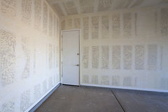 Drywall Bouw van een Garage Royalty-vrije Stock Afbeelding