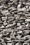 Drywall on Croatian Adriatic coast Royalty Free Stock Image