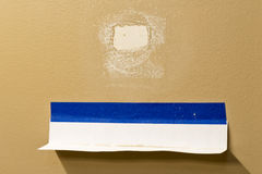 Drywall Dust Catcher. For Sanding Nail Pops And Small Repairs Royalty Free Stock Image