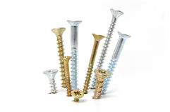 Drywall screws Stock Image