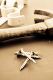 Drywall Screws Royalty Free Stock Photography
