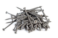Drywall screws Stock Photo