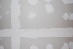 drywalltextur Arkivbilder