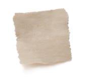 drzejący pusty stary papier obrazy stock