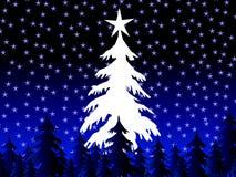 drzewa świąt ilustracja wektor