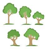 Drzewa royalty ilustracja