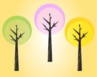 Drzewa Fotografia Stock