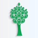 Drzewa cięcie od zieleni   papier Zdjęcia Royalty Free