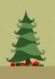 drzewa xmas Obrazy Stock