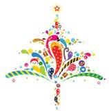 drzewa xmas royalty ilustracja