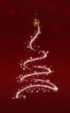 drzewa xmas Obrazy Royalty Free