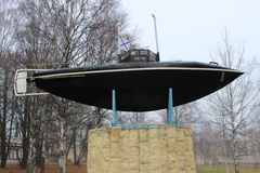 Drzewiecki submarino foto de archivo libre de regalías