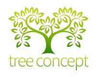 Drzewna ikona Zdjęcie Royalty Free