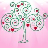 Drzewna miłość Zdjęcie Royalty Free