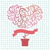 Drzewna miłość obrazy royalty free