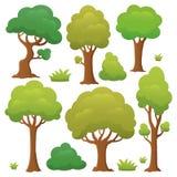 Drzewna temat kolekcja 1 Obraz Royalty Free