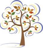 drzewna zima Obrazy Royalty Free