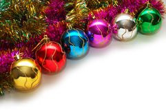drzewne Boże Narodzenie dekoracje fotografia stock